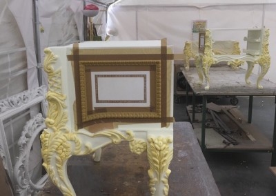 Grigolin srl - processo di applicazione dell'oro