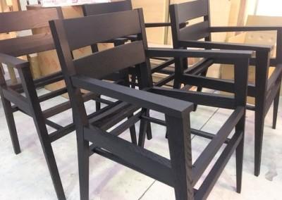 Grigolin srl - sedia rovere nero